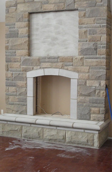 Indoor Stone Fireplace | Masonry